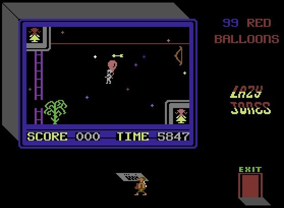lazy-jones-c64-99-red-balloons