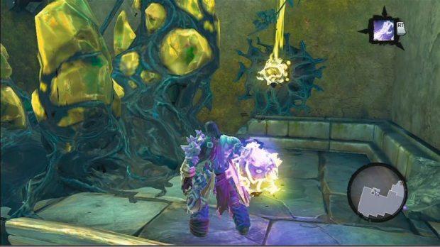 Der Tod trägt jetzt Lila und sorgt mit seinem praktischen Arm-Utensil für tolle Lichteffekte.