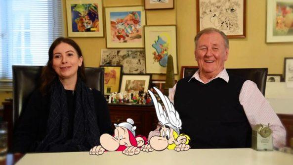 Anne Goscinny und Albert Uderzo