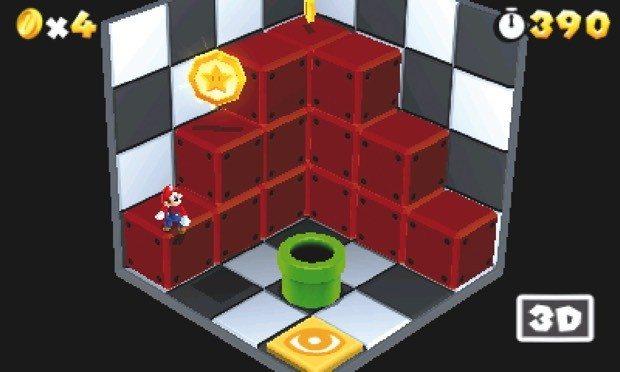Nicht nur in separaten Rätselräumen profitiert das Spiel ungemein vom 3D-Effekt.
