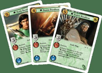 Drei Baratheons - drei Ansprüche auf den Thron