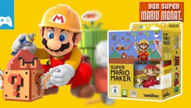 Photo of Super Mario Monat Finale: Wir verlosen Super Mario Maker inkl. 8-Bit Mario amiibo