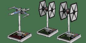 T70-X-Wing und First Order TIE-Fighter