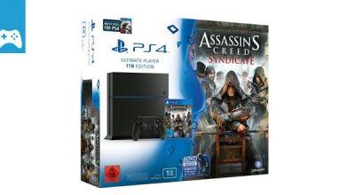 Bild von Game-News: 1TB-PS4 inkl. Assassin's Creed Syndicate und Watch Dogs kann vorbestellt werden