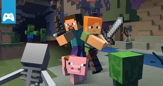 E Minecraft Trailer Und Termin Zum Neuen BattleModus SHOCK - Minecraft spieler online