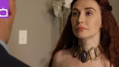Photo of Video: Melisandre aus Game of Thrones schockiert auf einer Babyparty
