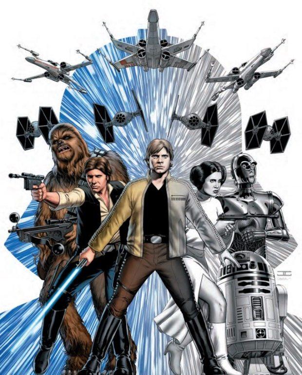 Star Wars #1 Cassaday Premiere Variant – von John Cassaday, Farben von Laura Martin