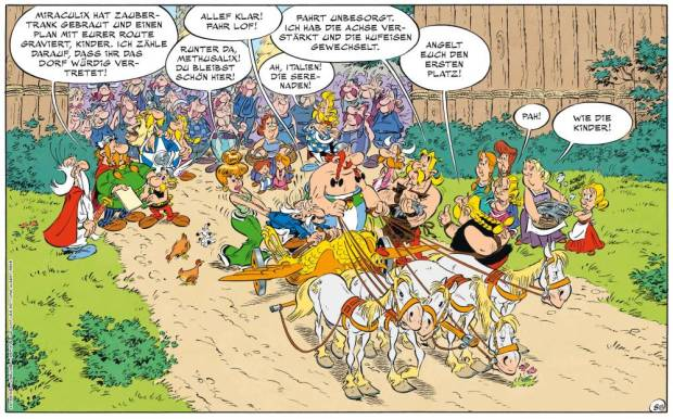 Asterix in Italien