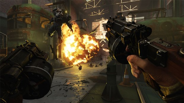 Wolfenstein 2 The New Colossus Review Test