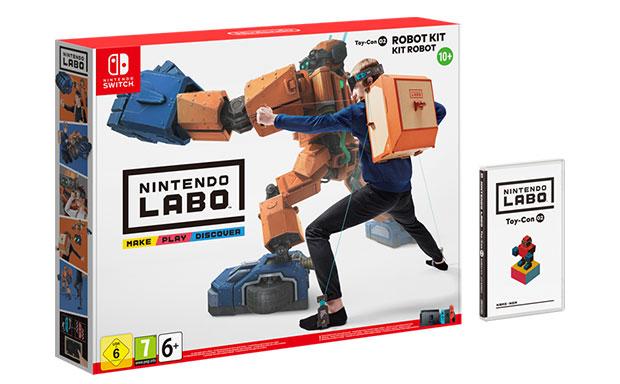 Nintendo Labo Robo-Set