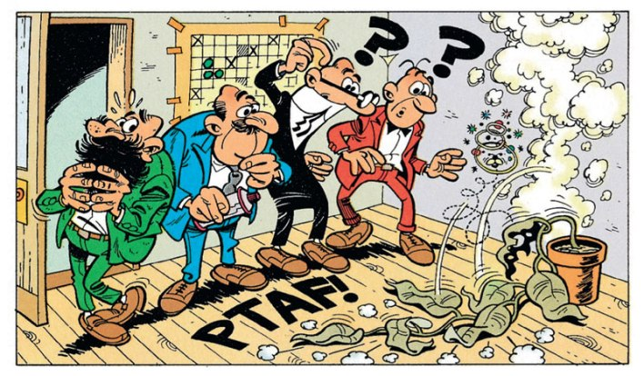 Clever & Smart Neuauflage Carlsen Comics