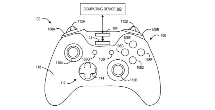 Xbox-One-Controller-Patents-01-Controller-Patent-740x380