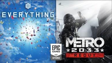 Photo of Everything und Metro 2033: Redux jetzt kostenlos im Epic Games Store erhältlich