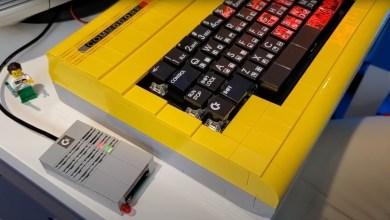 Photo of Funktionierendes SD2IEC-Laufwerksgehäuse für C64 aus Lego