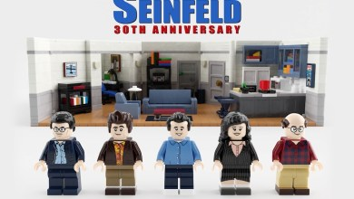 Bild von Seinfeld bekommt ein Lego Set
