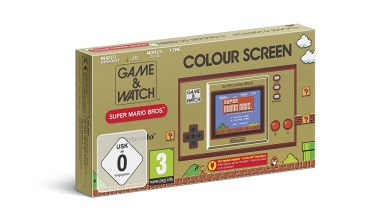 Bild von Wieder vorbestellbar! Game&Watch: Super Mario Bros.(Amazon Partnerlink)