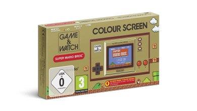 Bild von Wieder vorbestellbar! Game&Watch: Super Mario Bros.(Amazon Partnerlink)