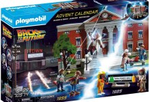 Bild von Amazon-Tipp: PLAYMOBIL Adventskalender – Back To The Future / Zurück in die Zukunft! (Partnerlink)