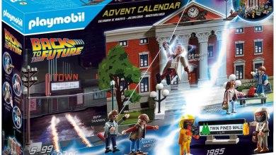 Bild von Amazon-Tipp: PLAYMOBIL Adventskalender – Back To The Future / Zurück in die Zukunft! (Partnerlink)