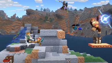 Bild von Minecraft Steve für Super Smash Bros. Ultimate angekündigt