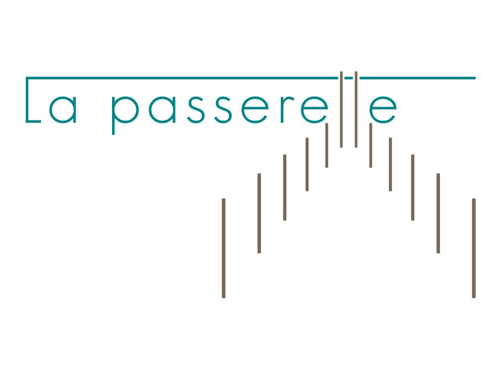 Logo restaurant la passerelle