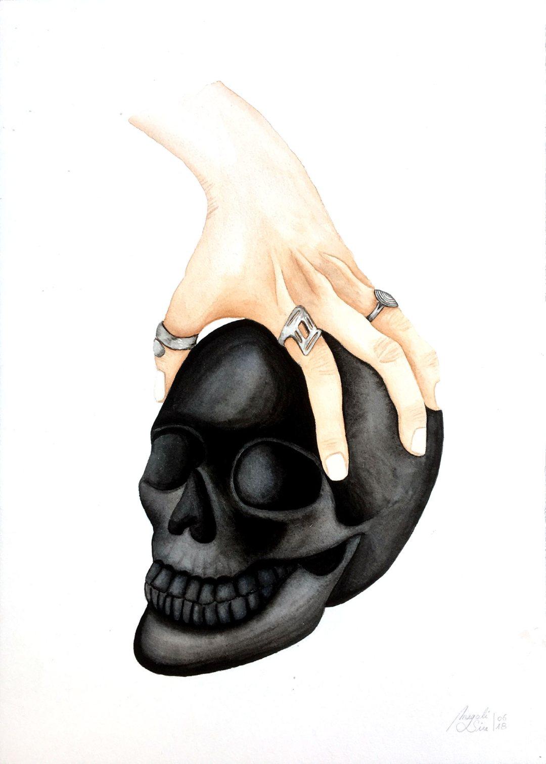 Prise de tête | 25.5 cm x 35,5 cm