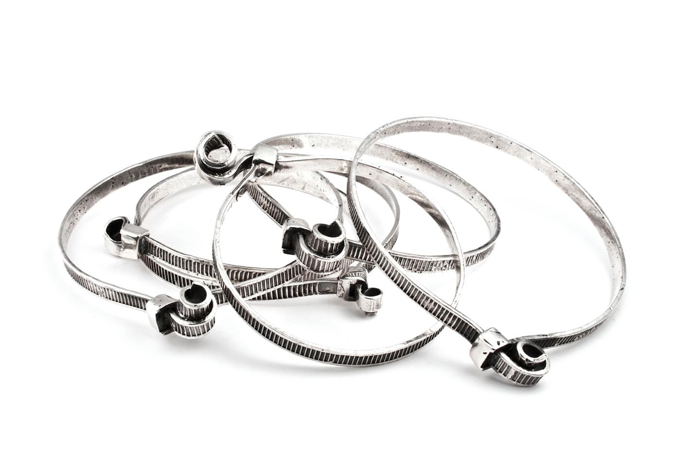 Tie Wrap Bracelets
