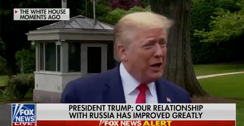 """Trump Says He'll Attend SpaceX Launch, Tells Media, """"I'd like to put you in the rocket and get rid of you for a while!"""""""