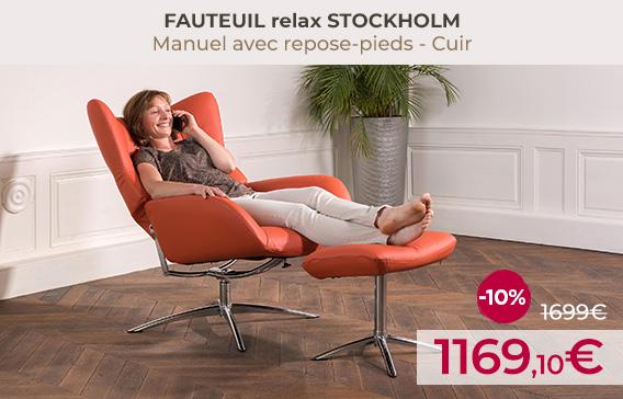 soldes fauteuils et canapes relax