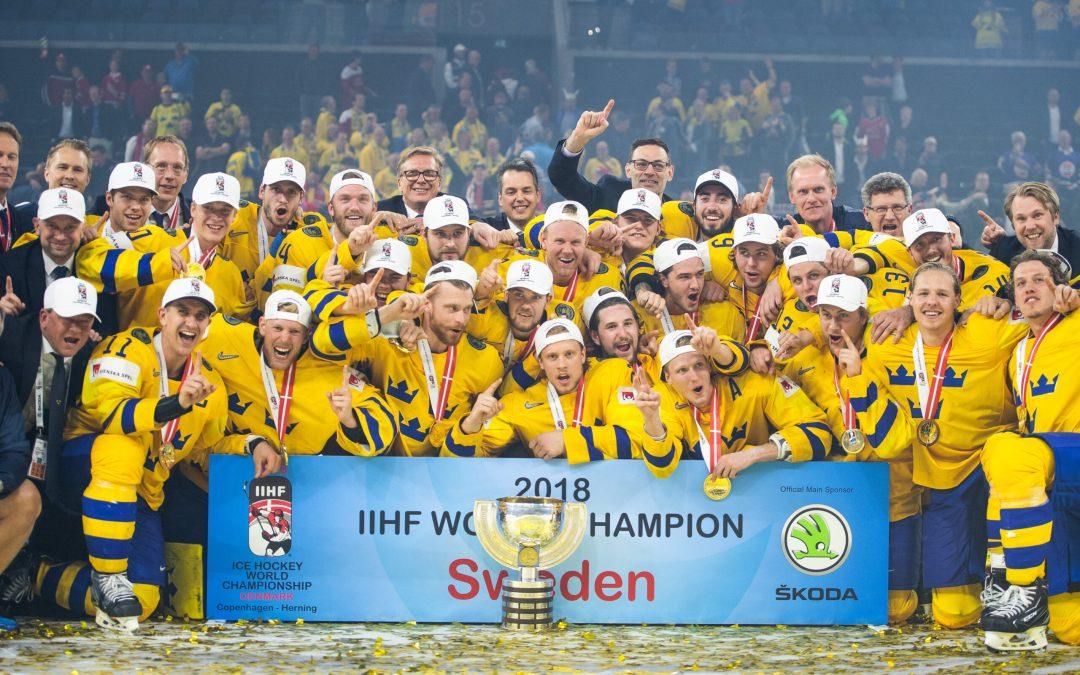 Tre Kronor världsmästare för elfte gången