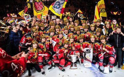 Luleå HF svenska mästare för damer 2018/19