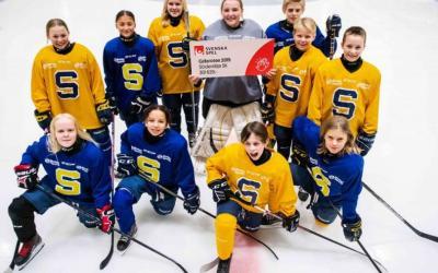 Pengaregn när ungdomshockeyn får 5,8 miljoner kronor