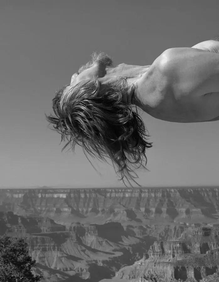 ©Arno Rafael Minkkinen, 1995, Grand Canyon, Arizona