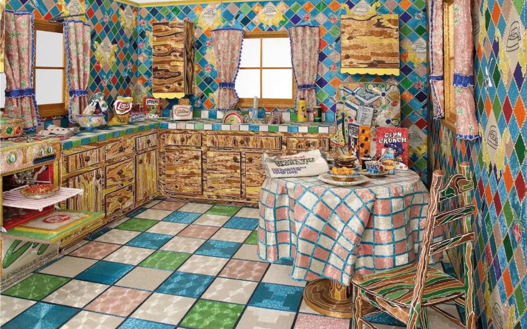 Kunstverket: Kitchen, 1991–1996 av Liza Lou
