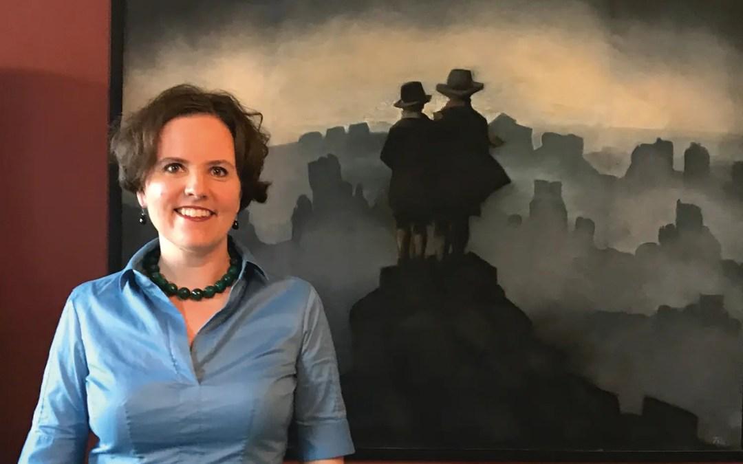 På veggen: Ingrid Røynesdal