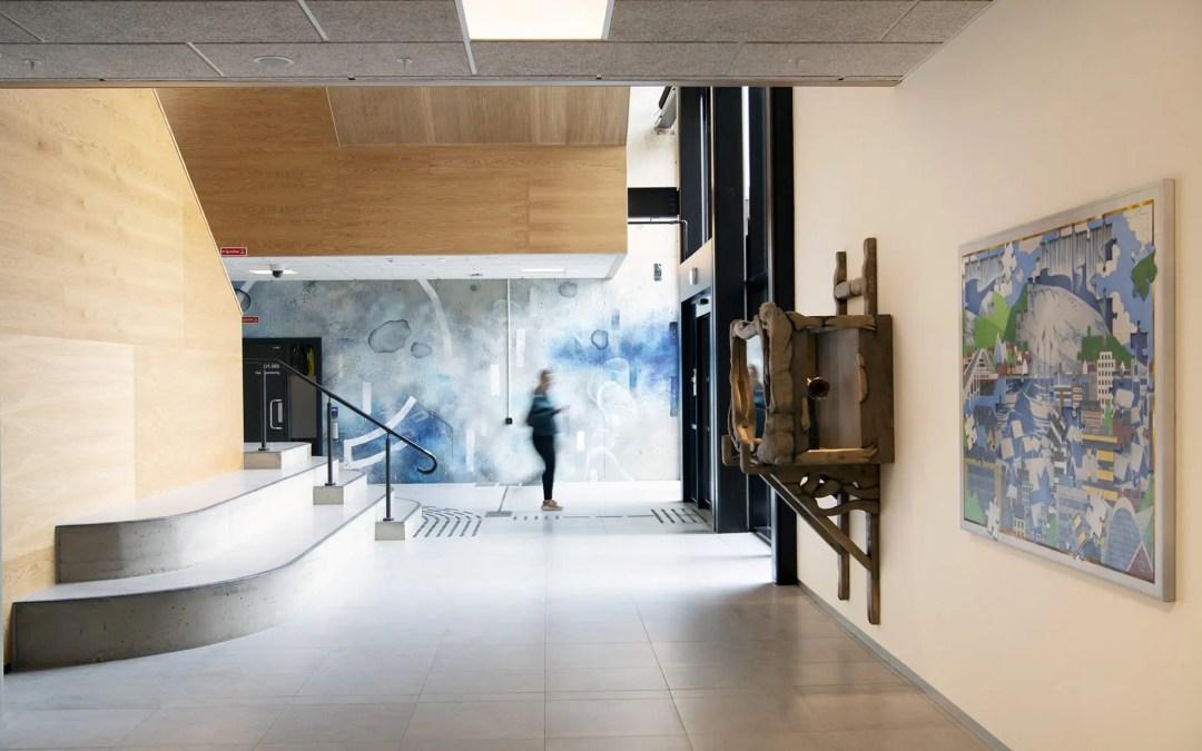Lærerstudentene i Tromsø marineres i kunst