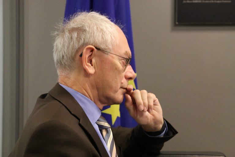 Graaf Herman Van Rompuy: 'Mensen zijn gelukzoekers omdat ze zinzoekers zijn'