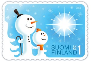Finsko - sněhulák