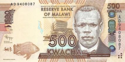 500 kwach