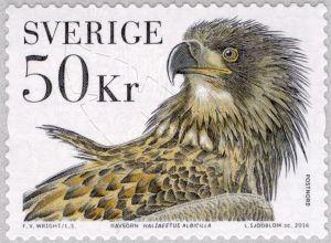 Švédská pošta: Orel mořský