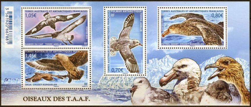 Nové známky Francouzských jižních a antarktických území v roce 2016