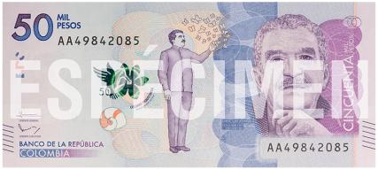 Kolumbijské bankovky
