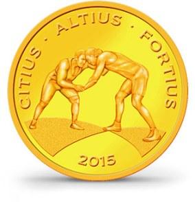 Brazilské olympijské mince