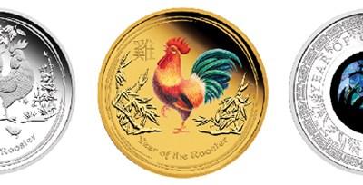 Čínský nový rok na australských mincích