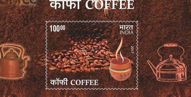 Nové indické známky voní po kávě