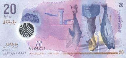 Nové maledivské bankovky