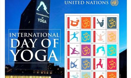 Nové známky OSN k Mezinárodnímu dni jógy