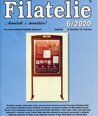 Časopis Filatelie 6/2020