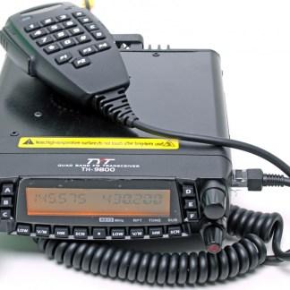 TYT TH-9800 - Рация CB/LB/VHF/UHF 27/50/144/433 МГц автомобильная универсальная
