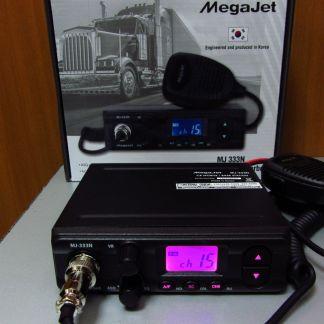 MegaJet MJ-333N Turbo - Рация Си-Би (CB) 27 МГц автомобильная